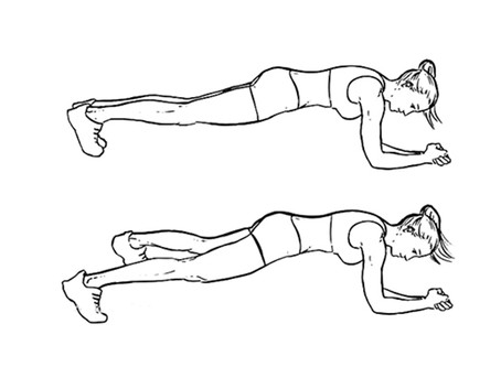 Plank Jacks For Weight Loss