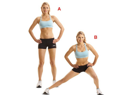 Side Lunger To Tone Inner Thighs