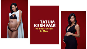 Tatum Keshwar The Super Model In Mom