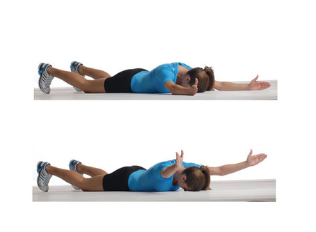 Y Exercise On The Floor
