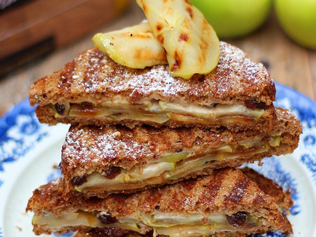 An Apple Pie Toastie For Sandwich Day