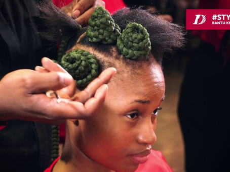 Protect Your Hair With Bantu Knots