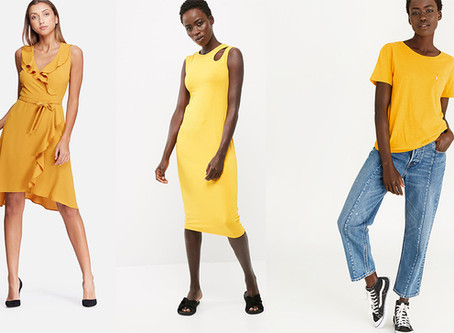 Be Bold In Yellow