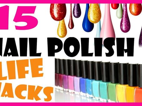 15 Nail Polish Hacks