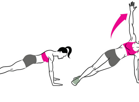 Plank And Rotate To Strengthen Your Core