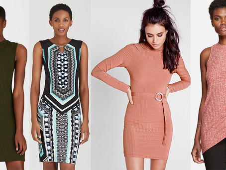 Bodycon Dresses To Match Your Ankle Boots