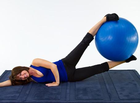 Ball Leg Lifts Workout For Inner Thighs