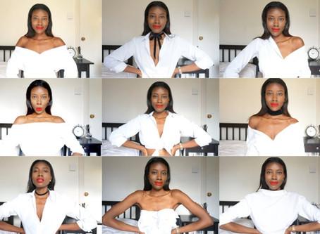 Nine Ways To Style a White Shirt
