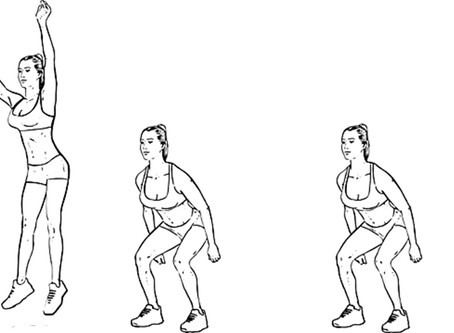 Jump And Squat For Your Calves