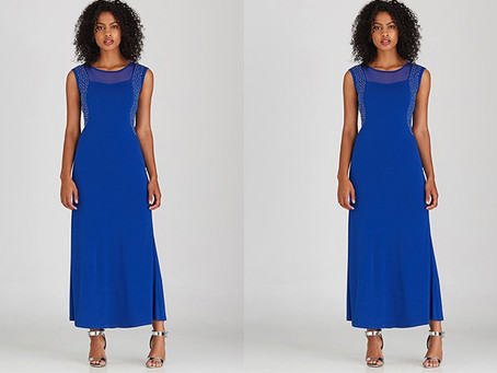 Be Elegantly Royal In Blue