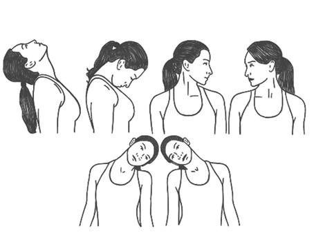 Seated Neck Release For Sore Necks