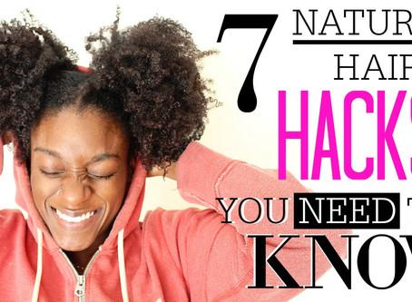 Top 7 Natural Hair Hacks