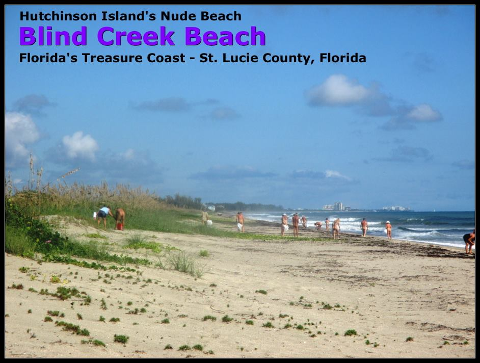 Naturists on Blind Creek Beach
