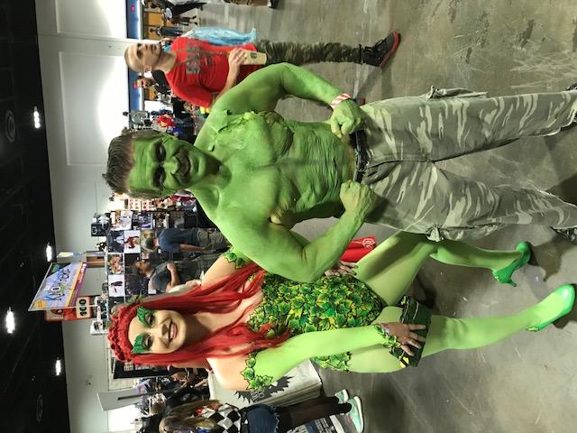 TBComicon Aut 3 2018 green girl