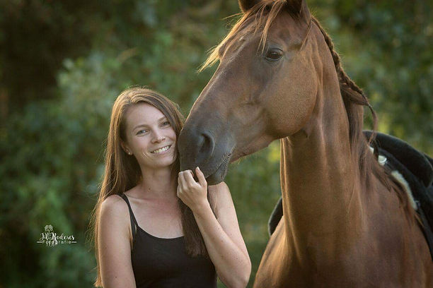 Horse and human