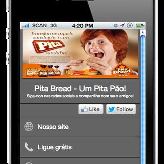 Mobile Pita Bread - Lemni Scata Propaganda