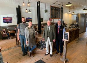 Belknap EDC and Wayfarer Coffee Roasters Partner To Support Wayfarer's Continued Growth