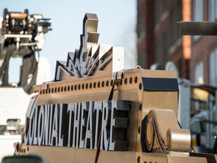 The Colonial Theatre Marquee has Returned