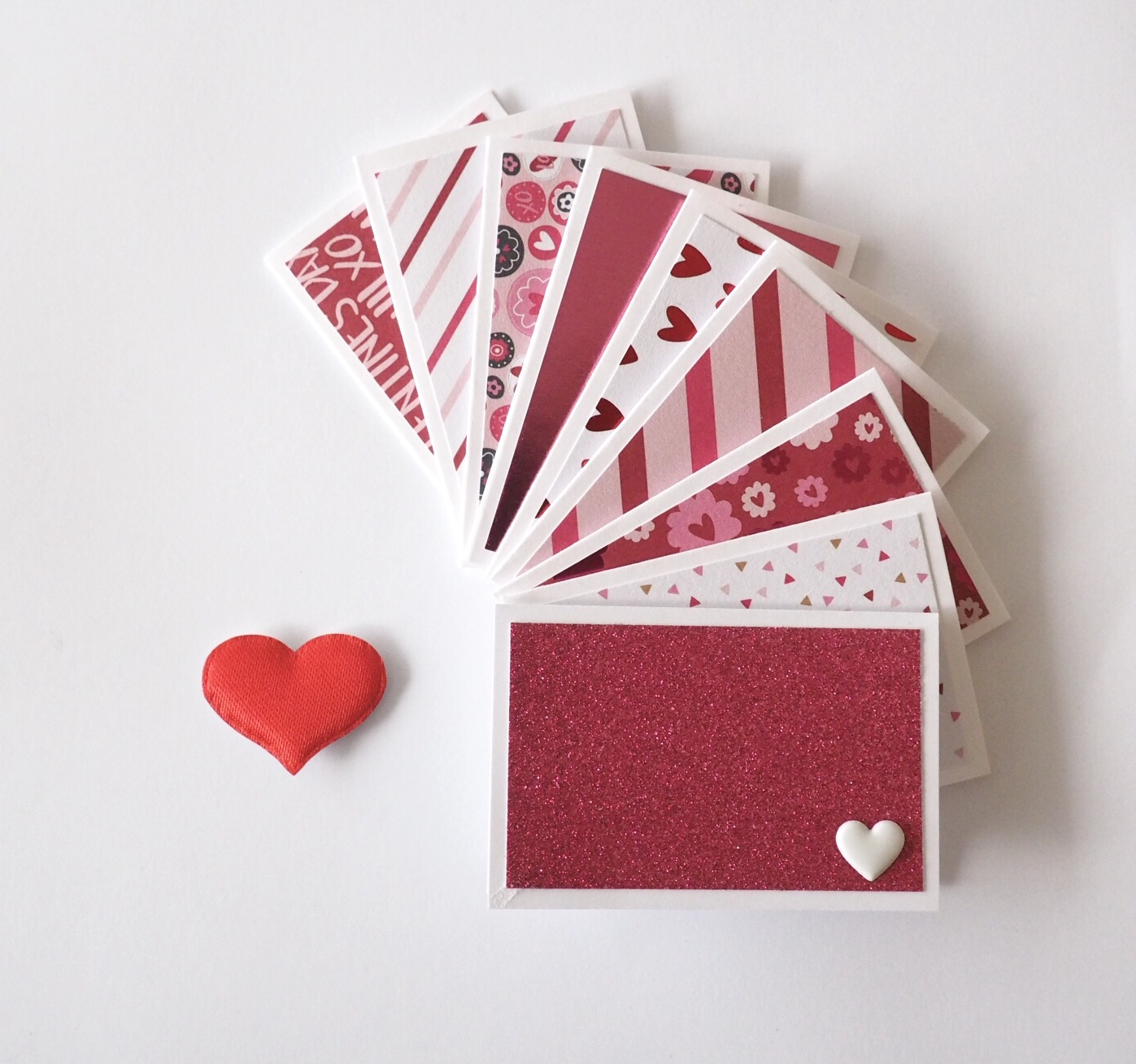 Valentine's Day mini cards