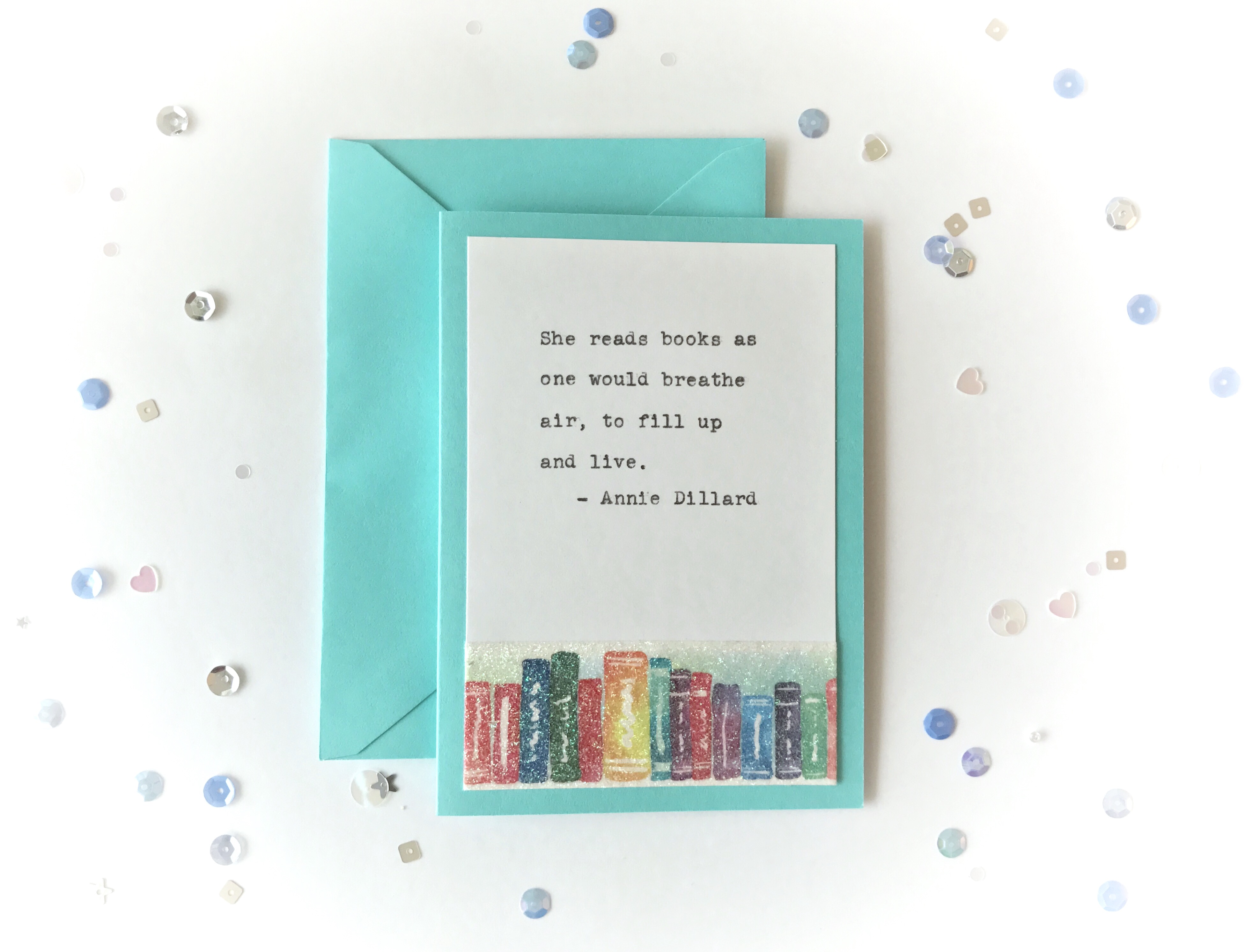 Book lovers notecard set