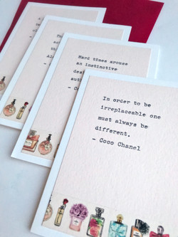 Inspirational notecard set