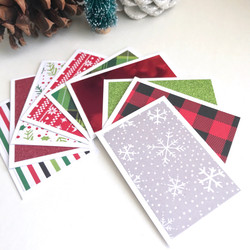 Mini holiday cards