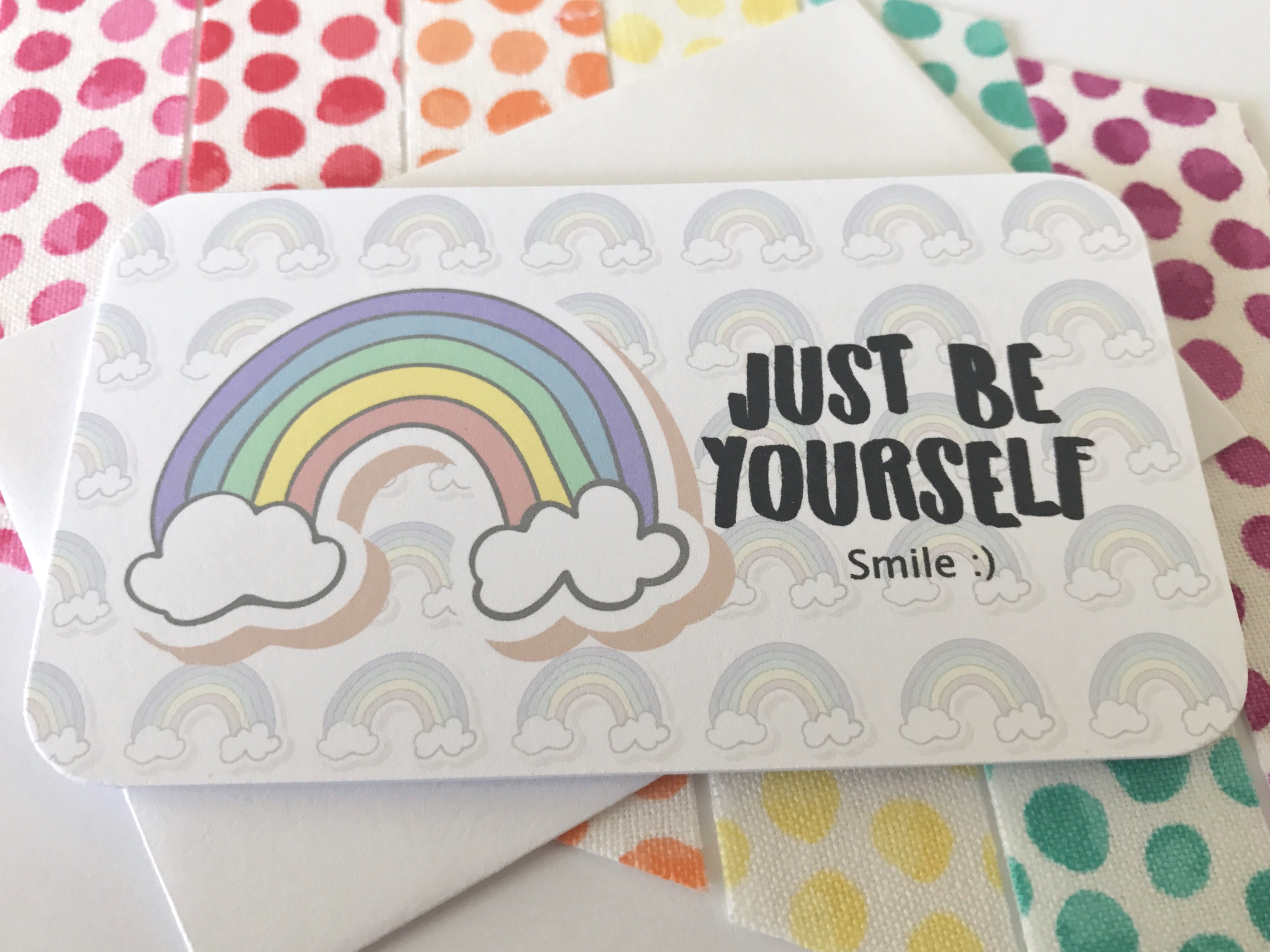 Just Be collection - mini cards