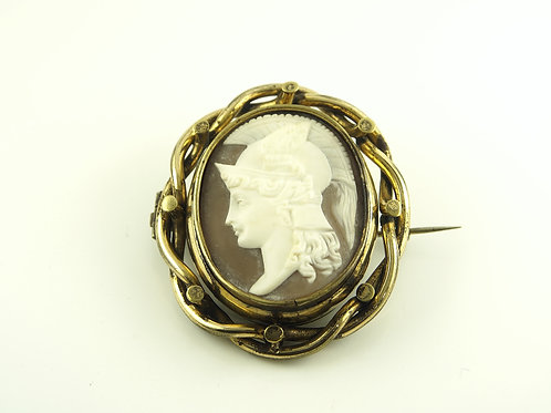Cameo Brooch with picture compartment.