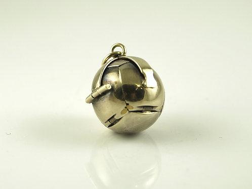 Masonic Gold Ball Pendent