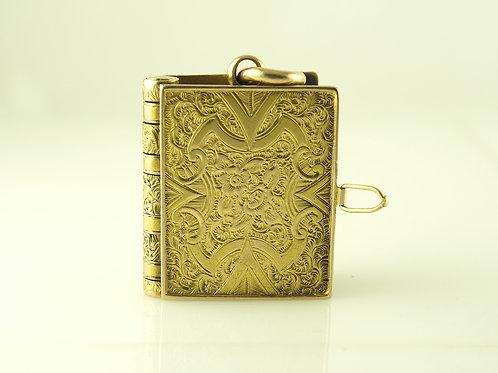 Yellow Gold Book Locket