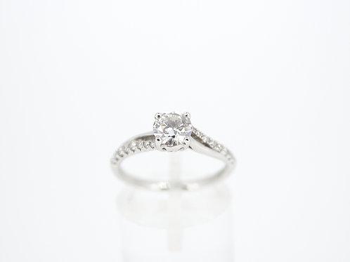 Old Cut Diamond Single Stone Ring