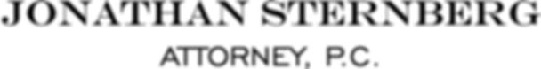 Jonathan Sternberg, Attorney, P.C. Logo