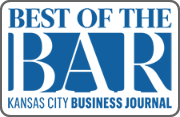 "Named to the ""Best of the Bar,"" Kansas City Business Journal, 2013-2016"