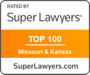 "Listed in Missouri & Kansas Super Lawyers ""Top 100"" attorneys in both states combined, 2016 and 2019 (youngest selectee both years)"
