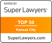 "Listed in Missouri & Kansas Super Lawyers ""Top 50"" attorneys in Kansas City metro area, 2016 & 2019 (youngest selectee both years)"