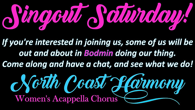 Singout Saturday!