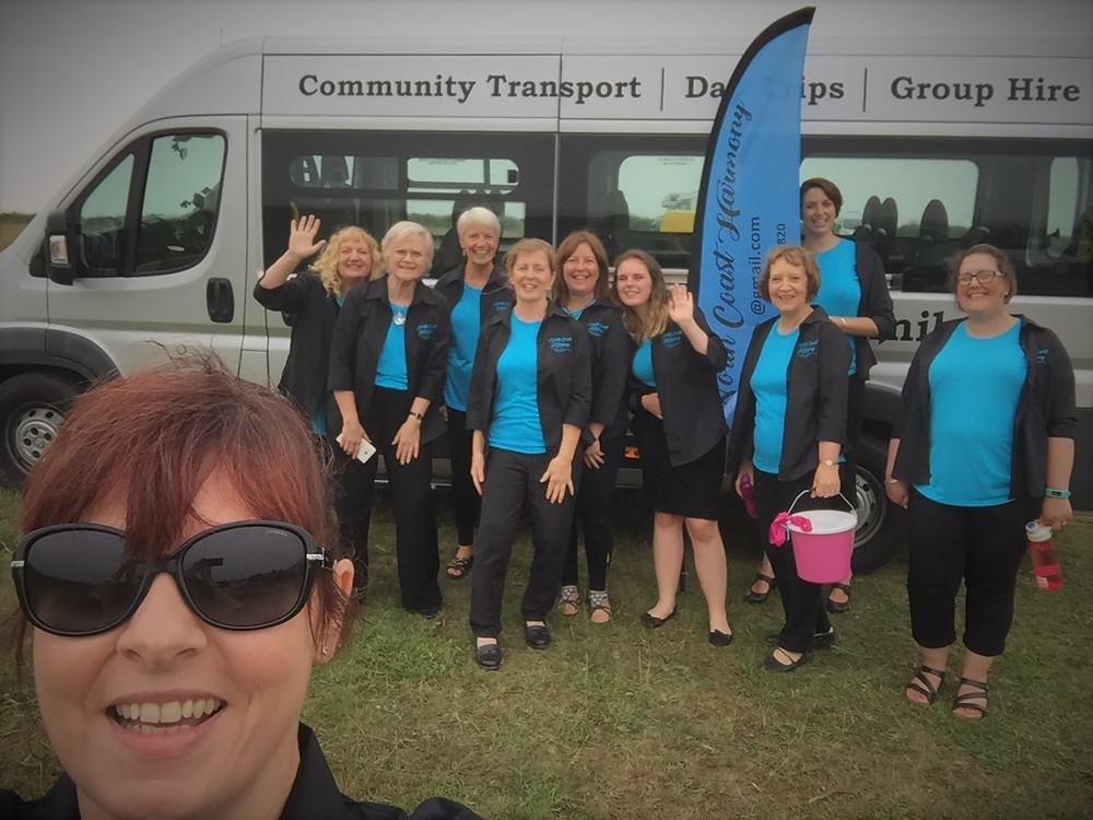 North Coast Harmony, Boscastle Community Bus, Tintagel Carnival