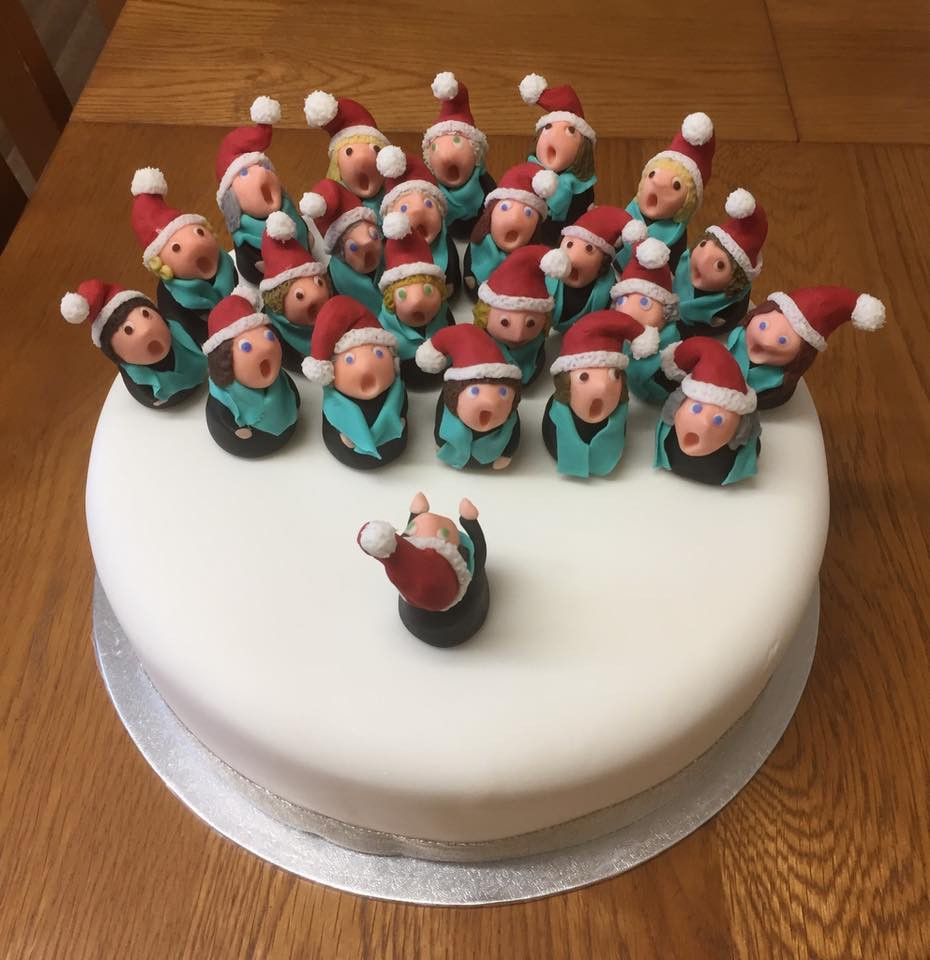 North Coast Harmony, Christmas Cake
