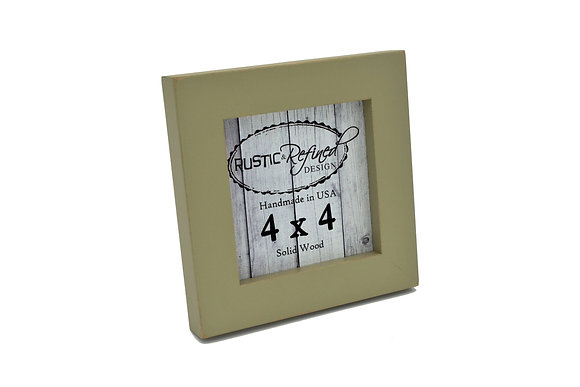 "4x4 1"" Gallery Picture Frame - Olive"