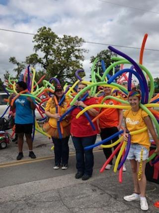 spirit parade