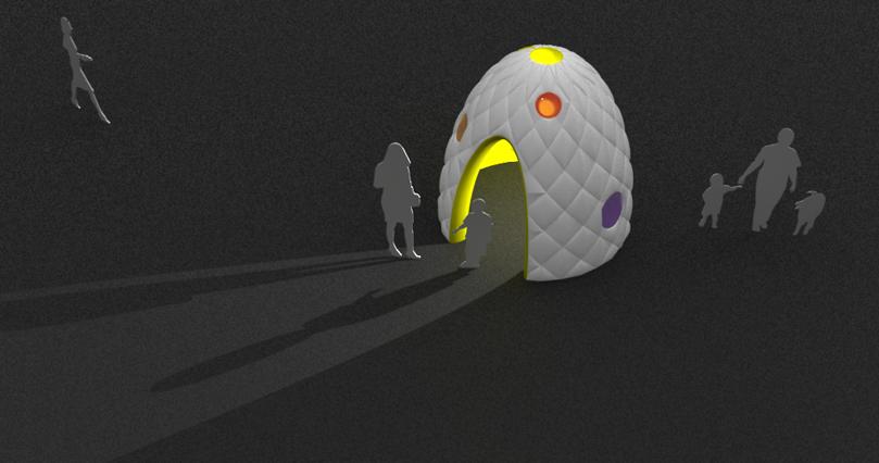 Humpty Dumpty play tent