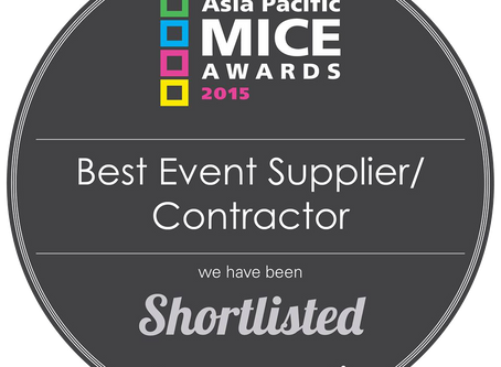 We have been shortlisted!!!