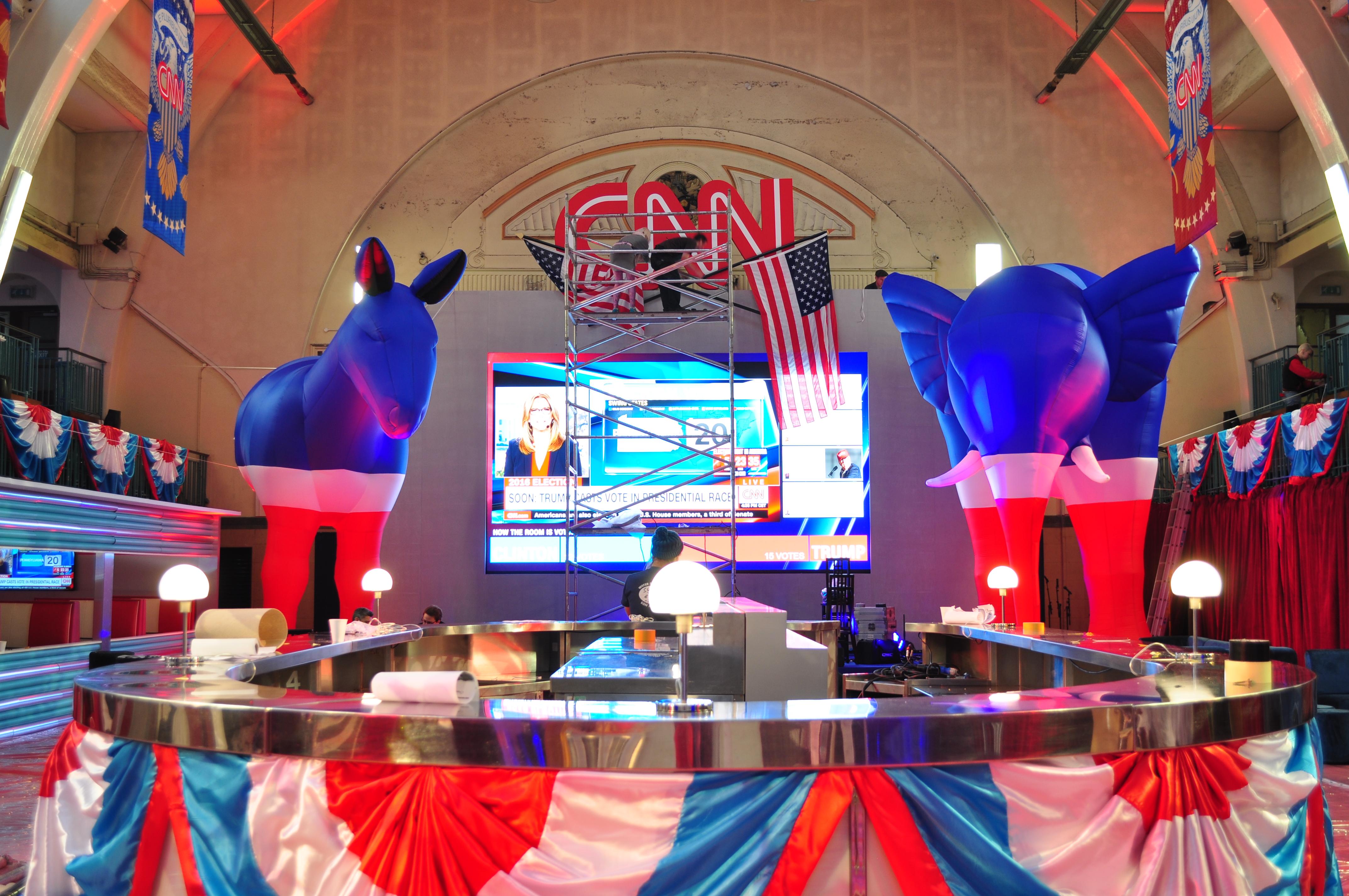 CNN USA Election Party Animals