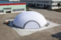 inflatable Macaroon 18 - 18m diameter dome
