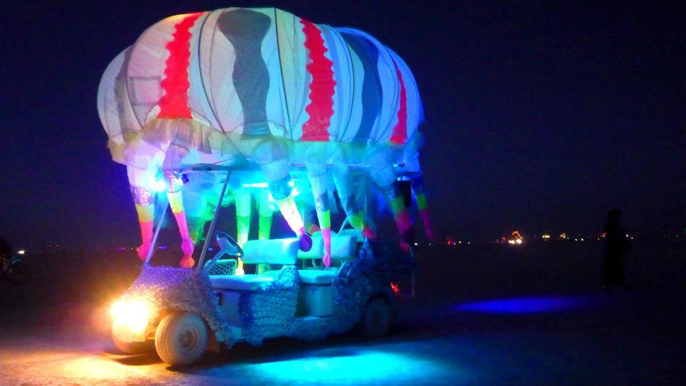 Jellyfish Artcar