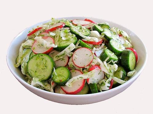 Салат из свежих овощей0.5 кг