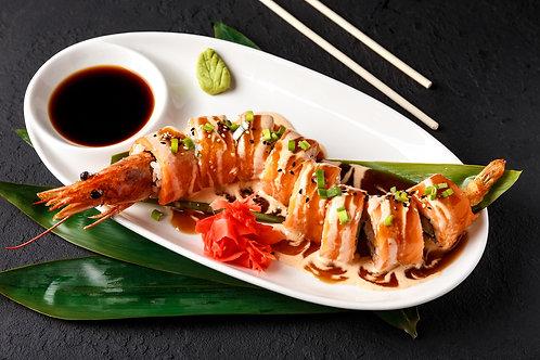 Dragon Salmon roll