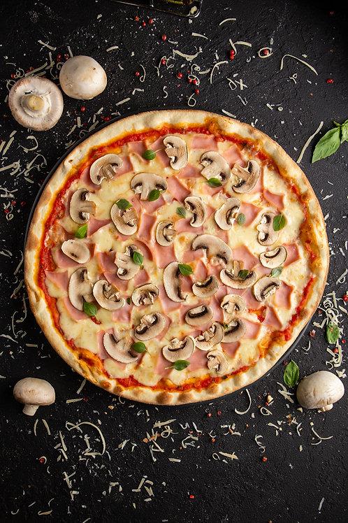 Пицца ветчина и грибы 30см