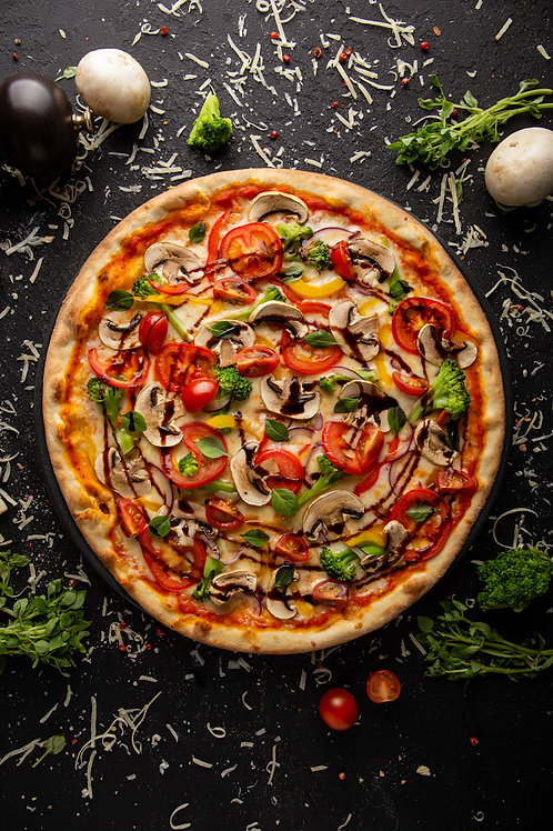 Пицца овощная 30 см