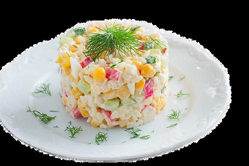 Салат с крабом и айсбергом0.5 кг